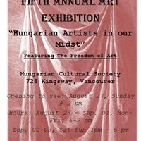 Hungarian Artists in our Midst