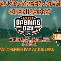 Augusta GreenJackets Opening Day