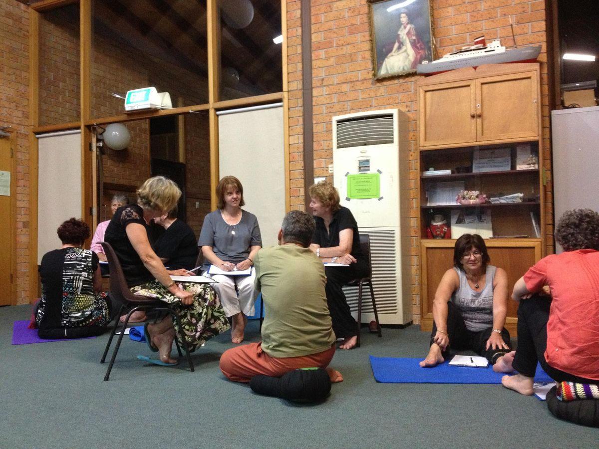 MBSR (Mindfulness-Based Stress Reduction) 8-Week Course