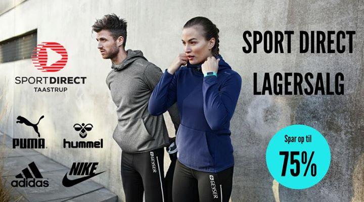 c33743c8499 Sport Direct lagersalg / Sportstøj (Taastrup) at Spotorno Allé 8 ...