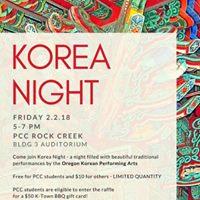 Korea Night 2018