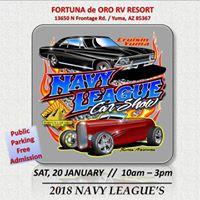 Navy League Car Show