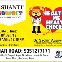 Free health check-up for kids