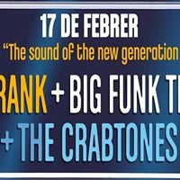 Blackcelona concert The Crabtones 4theFrank i Big Funk Theory