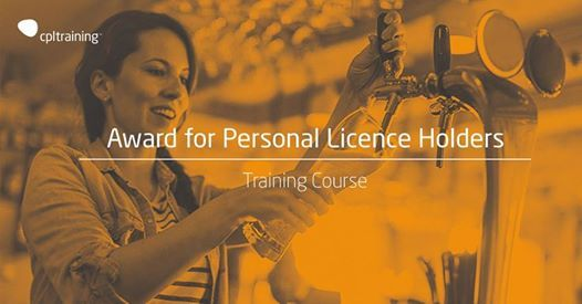 Award for Personal Licence Holders