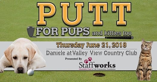 2018 Putt for Pups Golf Outing