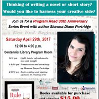 Creative Writing Presentation Workshop and Book Signing