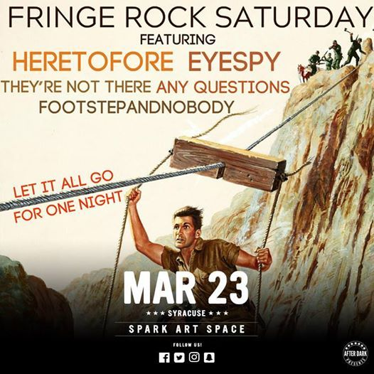 Fringe Rock Saturday - March 23rd at Spark Art Space