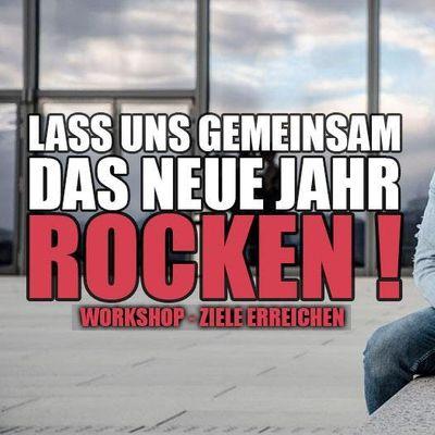 LASS UNS GEMEINSAM DAS NEUE JAHR ROCKEN  Workshop - Ziele erreichen