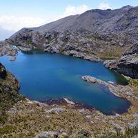 Laguna La Pintada la ms Hermosa del Pramo de Santurbn