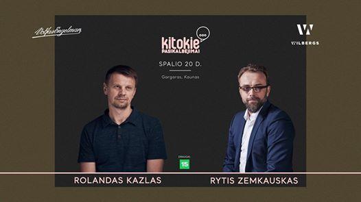 Kitokie pasikalbjimai su Rolandu Kazlu
