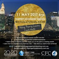 Property Investment Seminar - Parramatta - 11 May