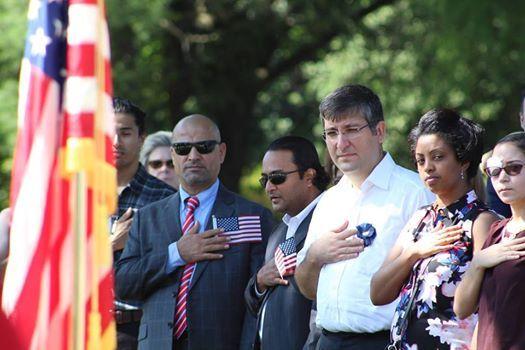Declaration Day + Naturalization Ceremony at Gunston Hall