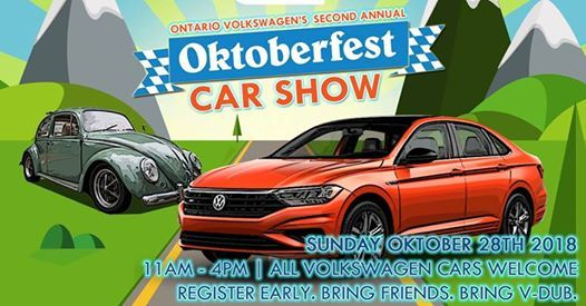 The Second Annual Ontario Volkswagen Oktoberfest Car Show At - Vw car show this weekend
