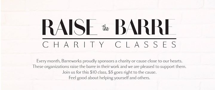 Raise the Barre Charity Class for HRW Canada