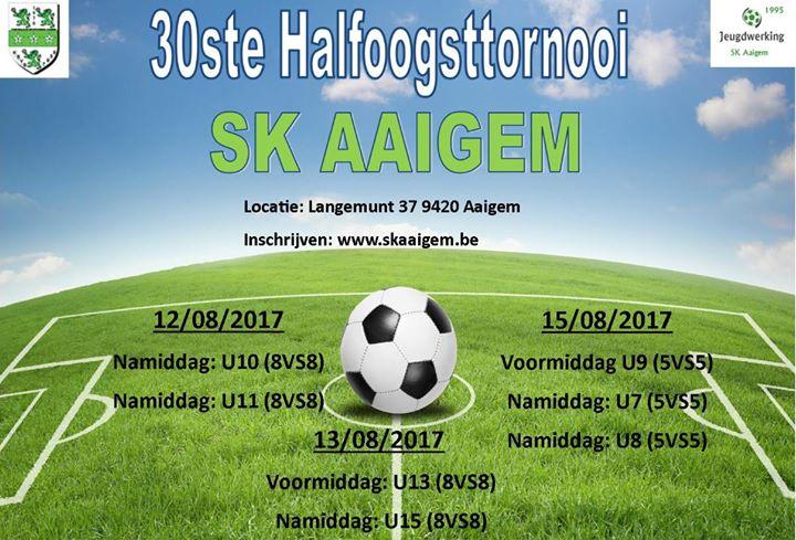 30ste Halfoogsttornooi Sk Aaigem At Sk Aaigem Oost Vlaanderen