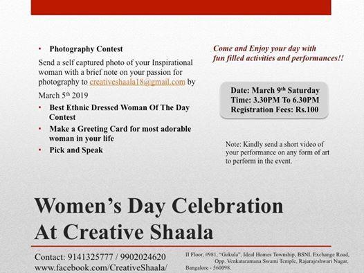 Women Day Celebration