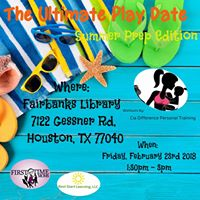 Ultimate Play Date  February 2018