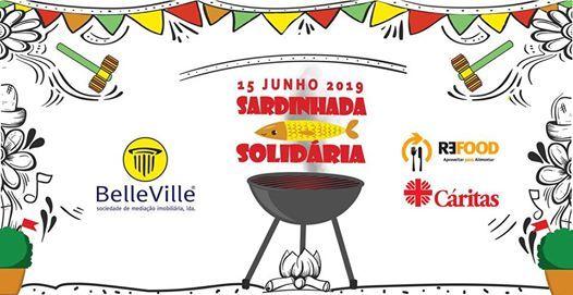 Sardinhada Solidria pela Refood e Caritas
