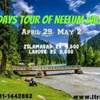 4 Day Tour of Neelum Valley