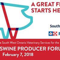 Annual Swine Producer Forum