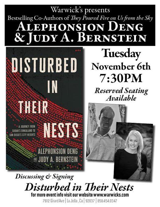 Judy Bernstein & Alephonsion Deng - Disturbed in Their Nests