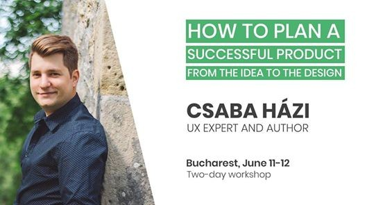 UX Workshop - How to plan a successful product