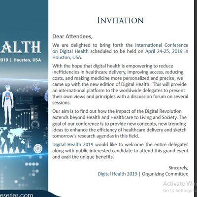 International Conference on Digital Health (CSE) A