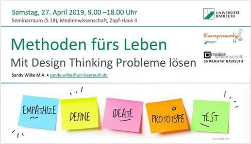 Methoden frs Leben  Mit Design Thinking Probleme lsen