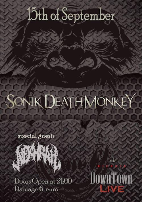 Sonik Death Monkey at Down Town Live