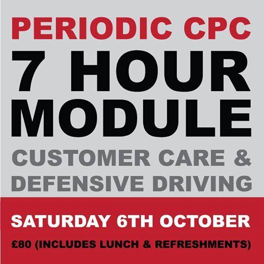 CPC Module - Customer Care & Defensive Driving