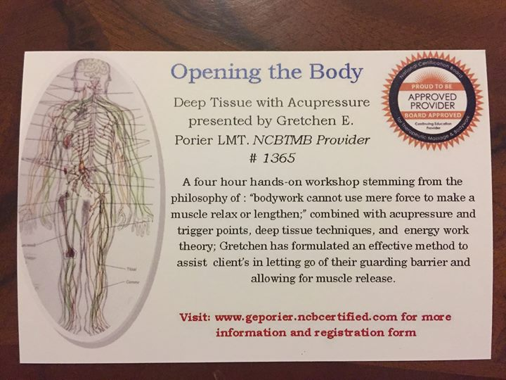 Opening the Body Deep Tissue w Acupressure