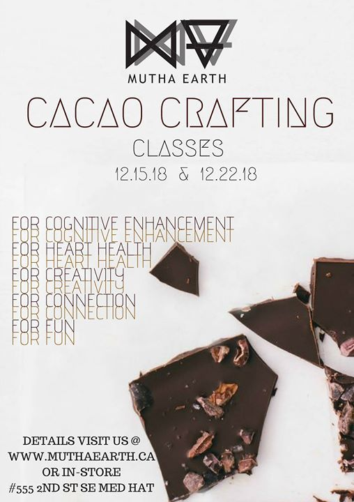 Cacao Crafting  Mutha Earth