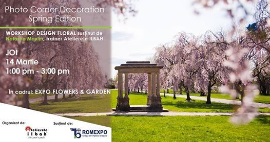 Photo Corner Decoration - Spring Edition  Expo Flowers & Garden