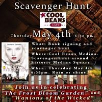 Book Launch and Scavenger Hunt at Cool Beans