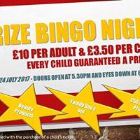 PTA Prize Bingo Night
