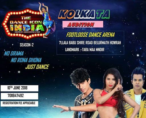 The Dance Icon India Season 2 Kolkata Audition