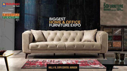 Pakistan Lifestyle Furniture Expo Karachi 28-30 June 2019