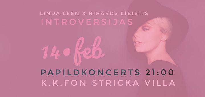 LINDA LEEN & Lībietis/ Introversijas. Nakts papildkoncerts
