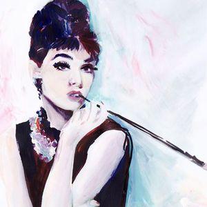 ArtNight Audrey Hepburn am 30042019 in Saarbrcken