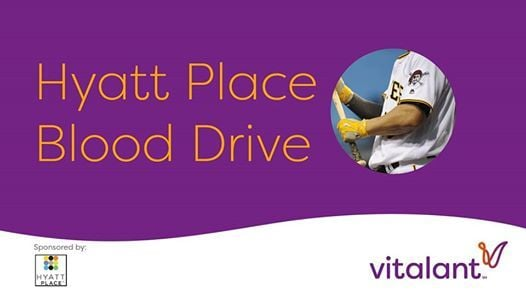 Hyatt Place Pirates Ticket Blood Drive