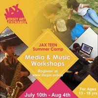 JAX TEEN Summer Camp - Media &amp Music Workshop