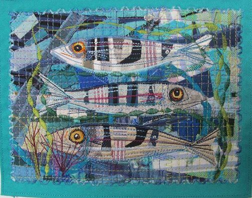 Sealife Collage and Applique Picture Workshop with Rachel Sumner