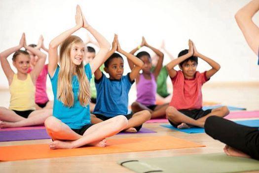Kids Yoga (Wednesdays at 4pm)