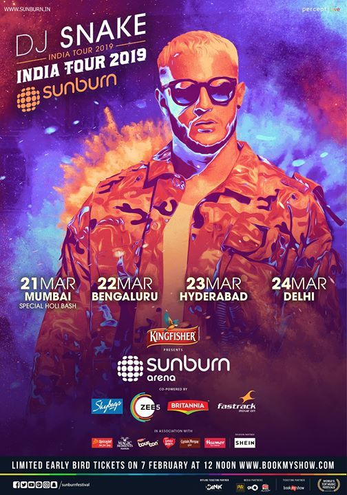 Sunburn Arena with DJ Snake - Bengaluru