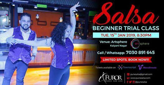 Salsa Beginner Trial Class - Tue 15th Jan Kalyani Nagar