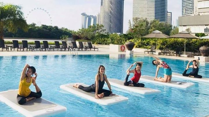 Try Yoga On Water