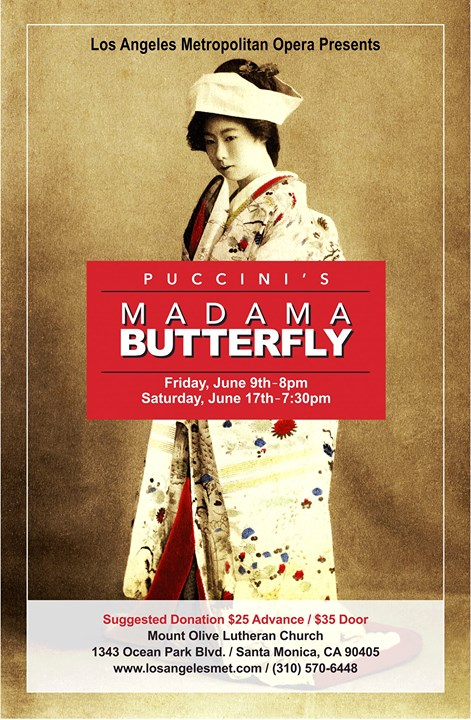 Madama Butterfly by G. Puccini