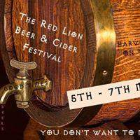 Red Lion Beer &amp Cider Festival