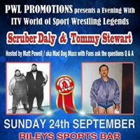 PWLs &quotan evening with&quot and WWE No Mercy